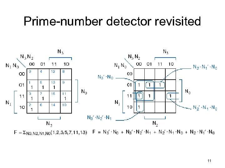 Prime-number detector revisited 11
