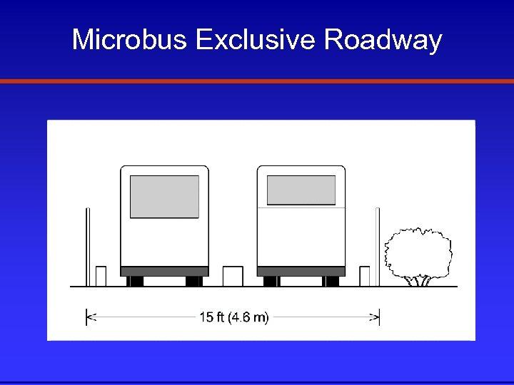 Microbus Exclusive Roadway