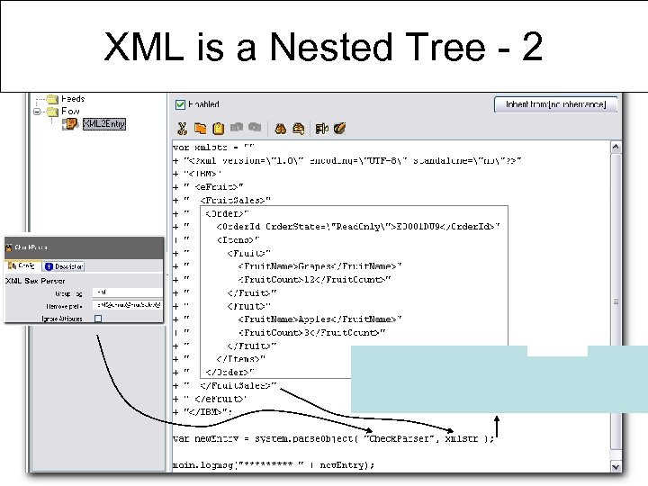 XML is a Nested Tree - 2