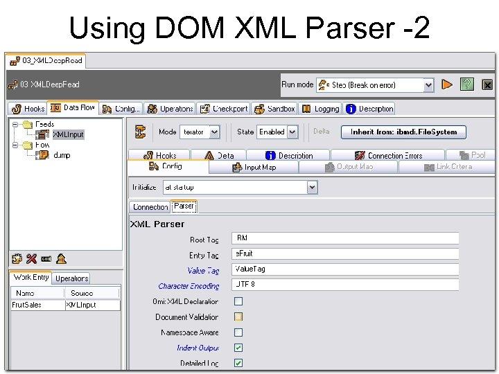 Using DOM XML Parser -2