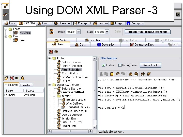 Using DOM XML Parser -3