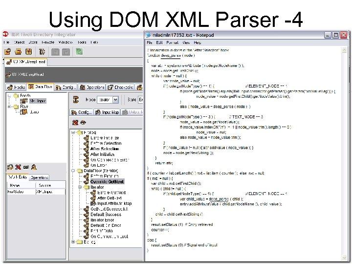 Using DOM XML Parser -4