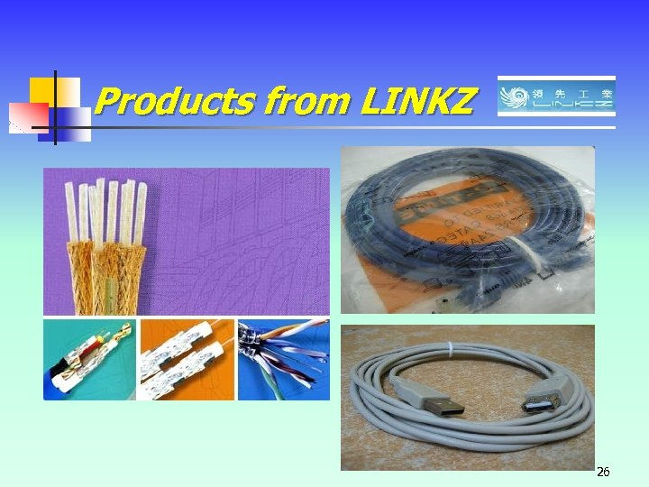 Products from LINKZ 26