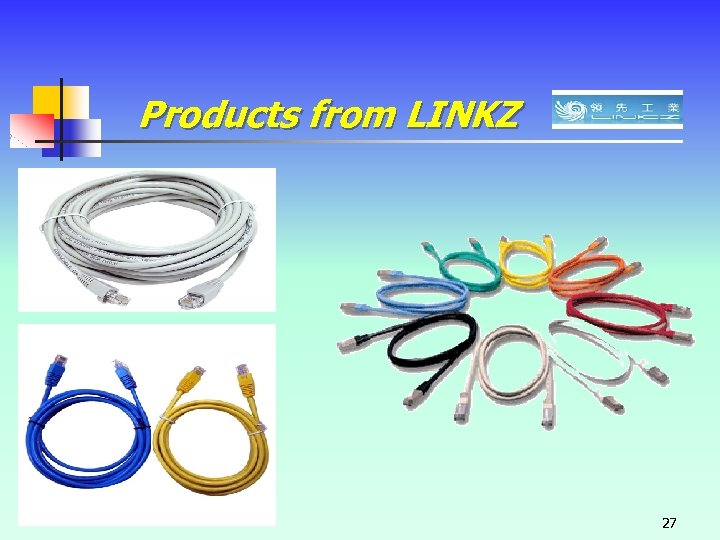 Products from LINKZ 27