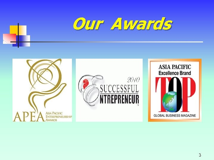 Our Awards 3