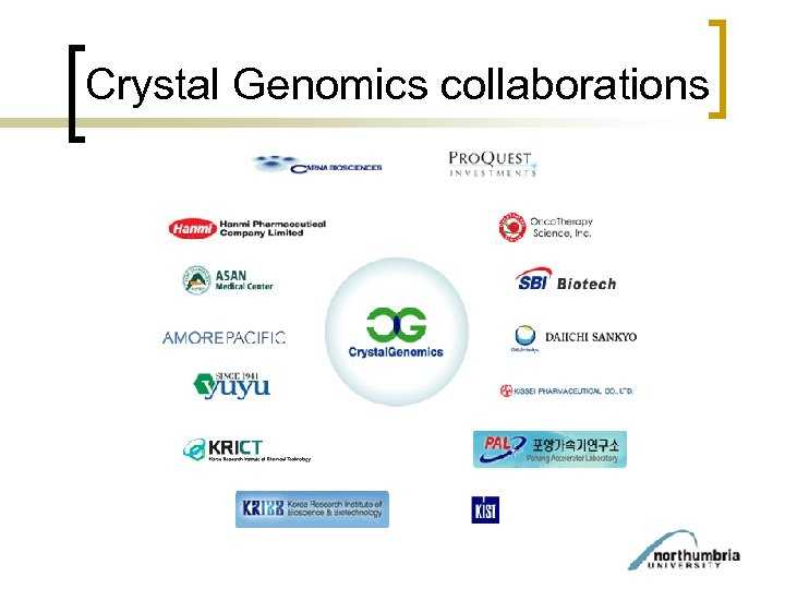 Crystal Genomics collaborations
