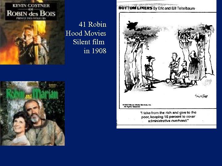 41 Robin Hood Movies Silent film in 1908
