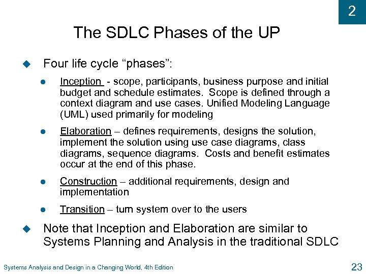 Systems Analysis ITEC 3155 Systems Analysis Tasks