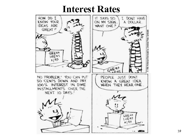 Interest Rates 39