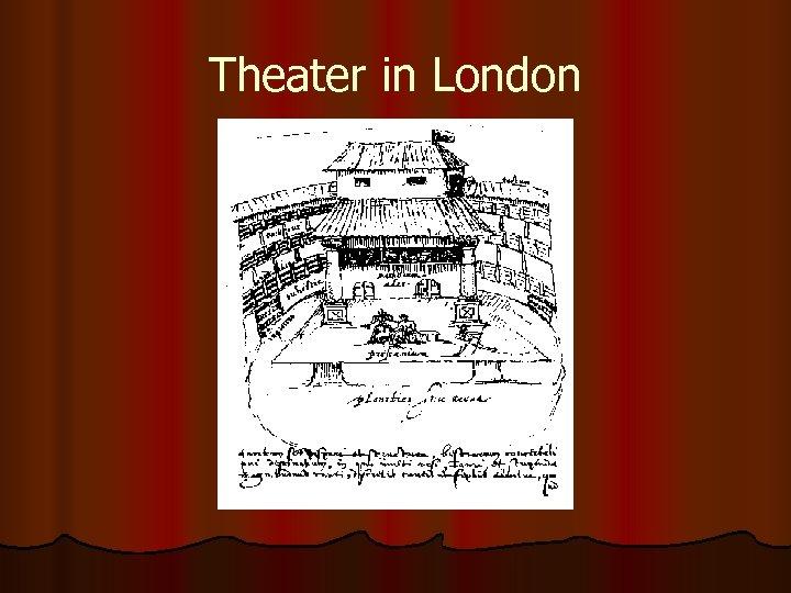 Theater in London