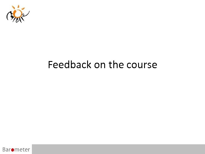 Feedback on the course 49