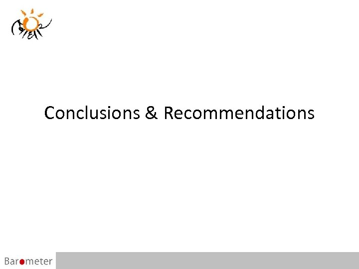 Conclusions & Recommendations 56