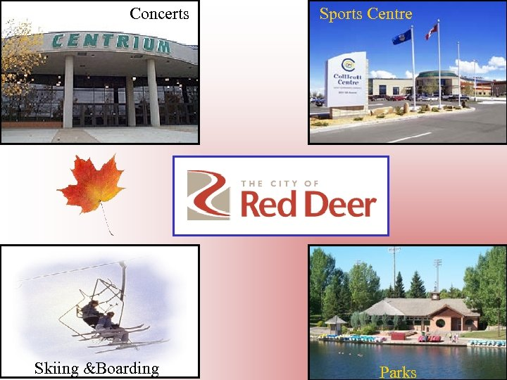 Concerts Skiing &Boarding Sports Centre Parks