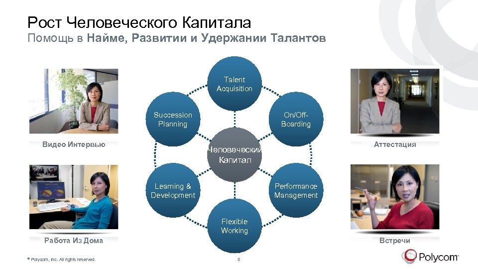 Рост Человеческого Капитала Помощь в Найме, Развитии и Удержании Талантов Talent Acquisition Succession Planning