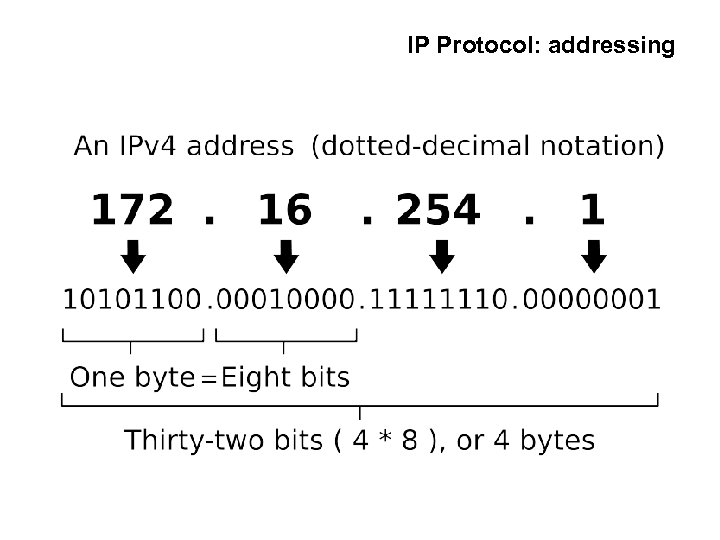 IP Protocol: addressing