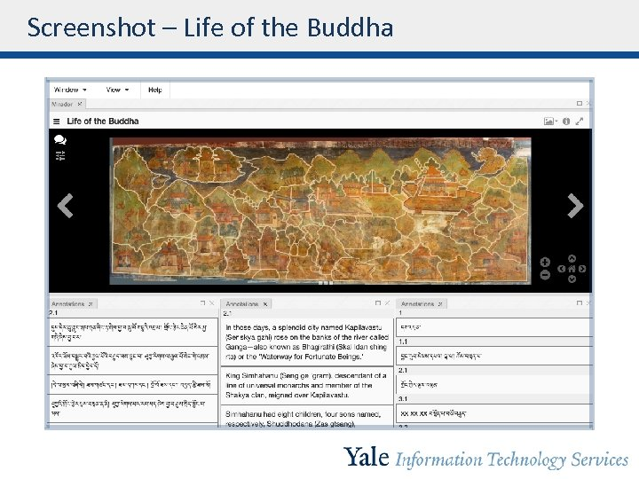 Screenshot – Life of the Buddha