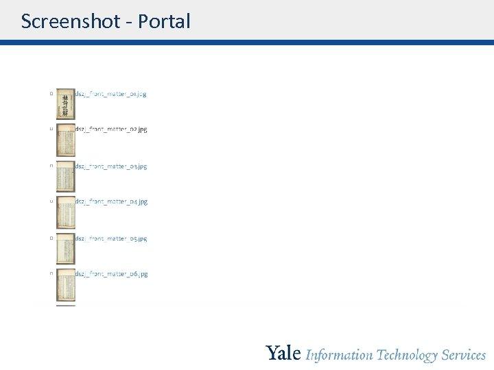 Screenshot - Portal
