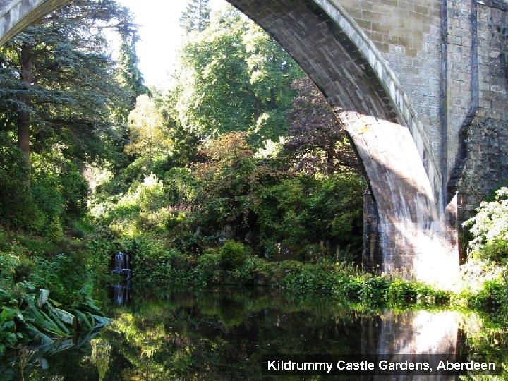 Kildrummy Castle Gardens, Aberdeen