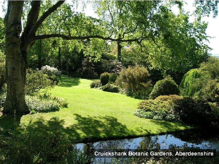 Cruickshank Botanic Gardens, Aberdeenshire