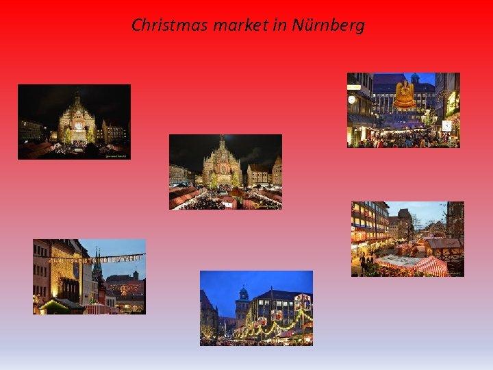 Christmas market in Nürnberg