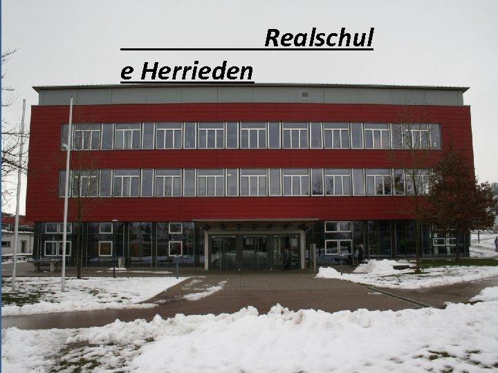 Realschule Herrieden
