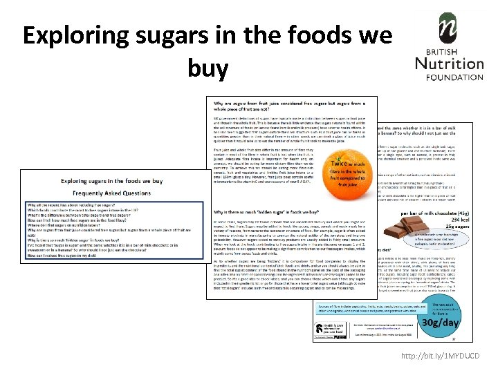 Exploring sugars in the foods we buy http: //bit. ly/1 MYDUCD