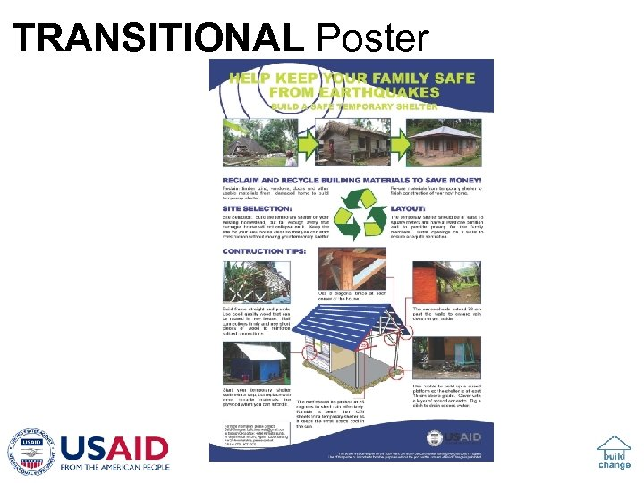 TRANSITIONAL Poster