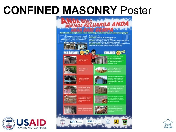 CONFINED MASONRY Poster