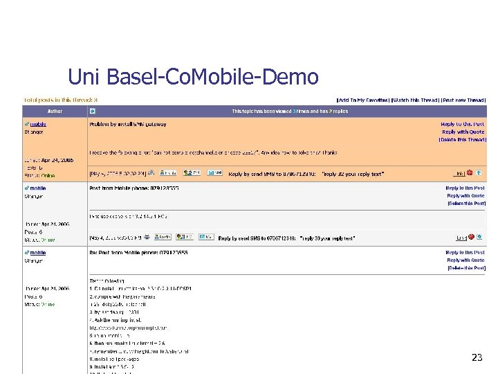 Uni Basel-Co. Mobile-Demo 23