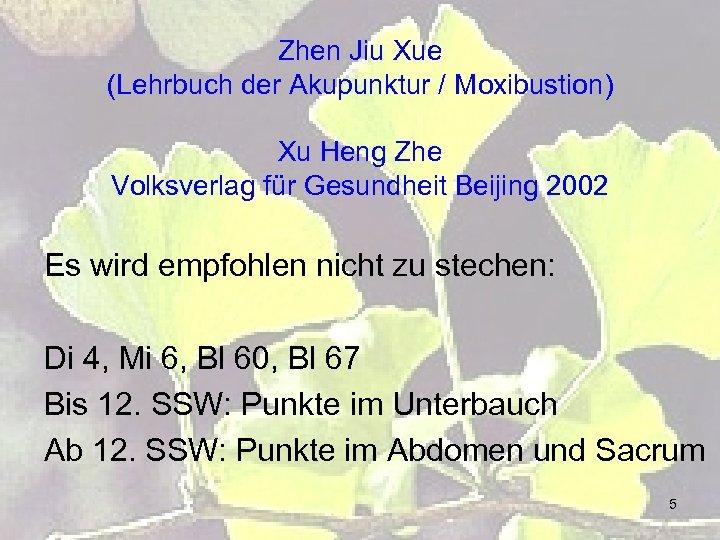 Zhen Jiu Xue (Lehrbuch der Akupunktur / Moxibustion) Xu Heng Zhe Volksverlag für Gesundheit