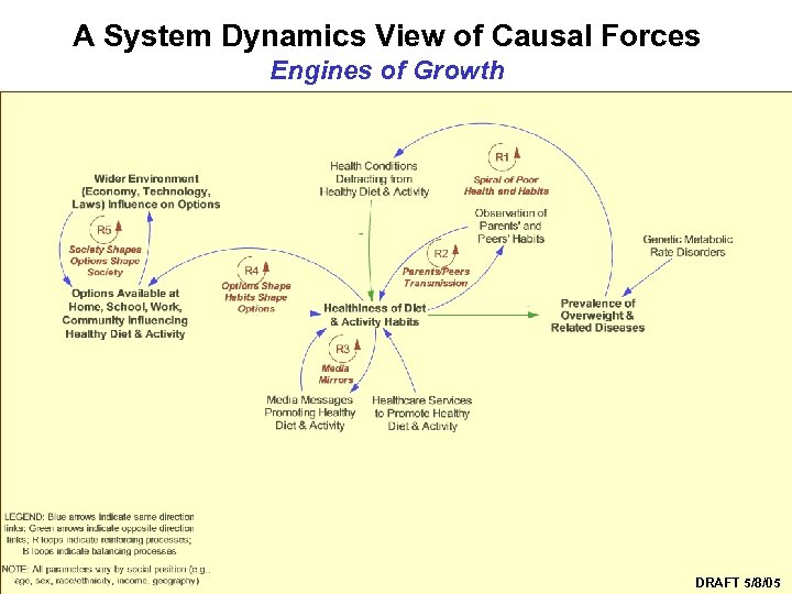 A System Dynamics View of Causal Forces Engines of Growth Syndemics Prevention Network DRAFT