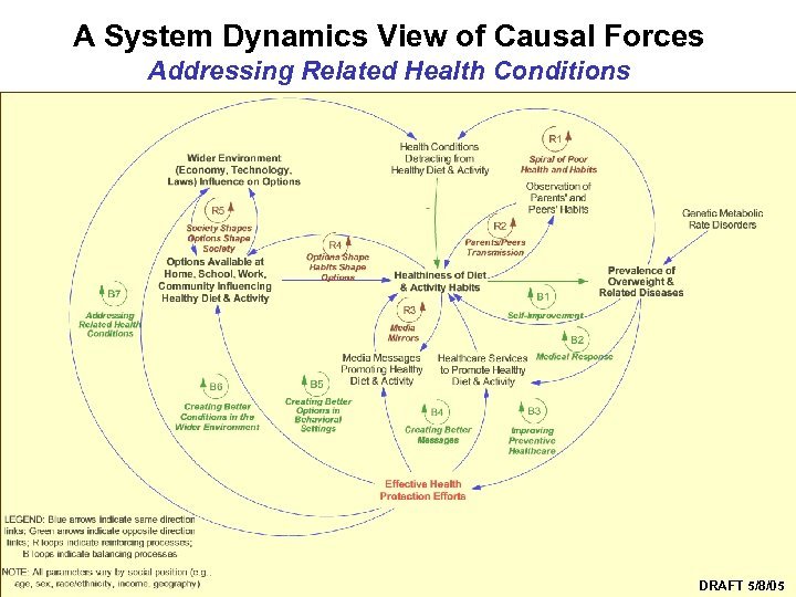 A System Dynamics View of Causal Forces Addressing Related Health Conditions Syndemics Prevention Network