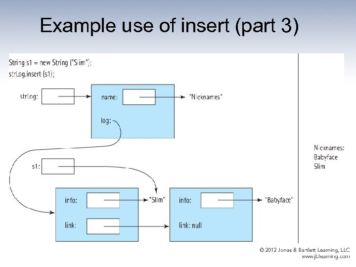 Example use of insert (part 3)