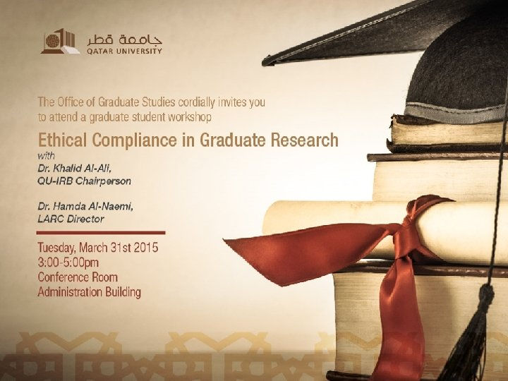 QU-IRB 31 March, 2015