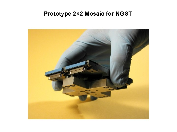 Prototype 2× 2 Mosaic for NGST