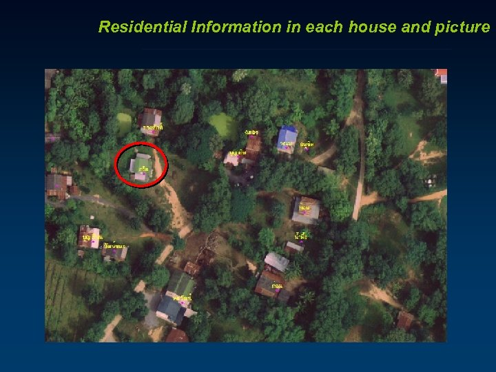 Residential Information in each house and picture