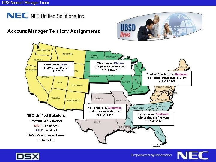 NEC DSX DSX Account Manager Team Account