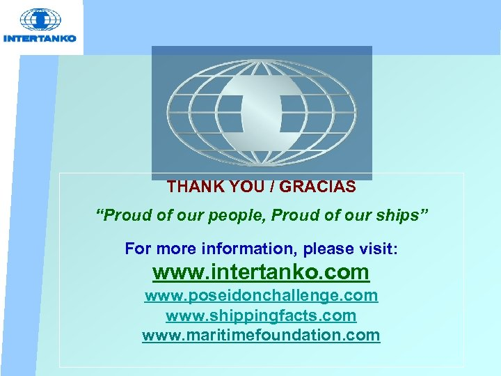 """THANK YOU / GRACIAS """"Proud of our people, Proud of our ships"""" For more"""