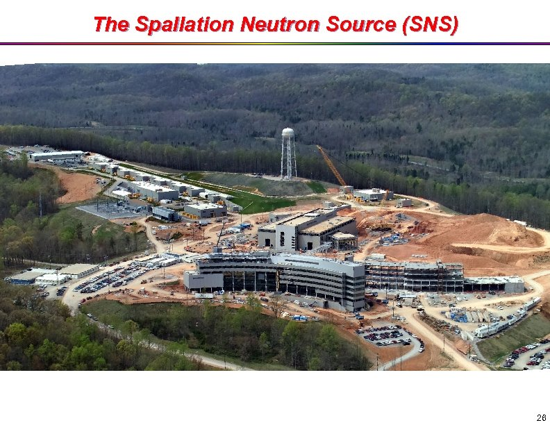 The Spallation Neutron Source (SNS) 26