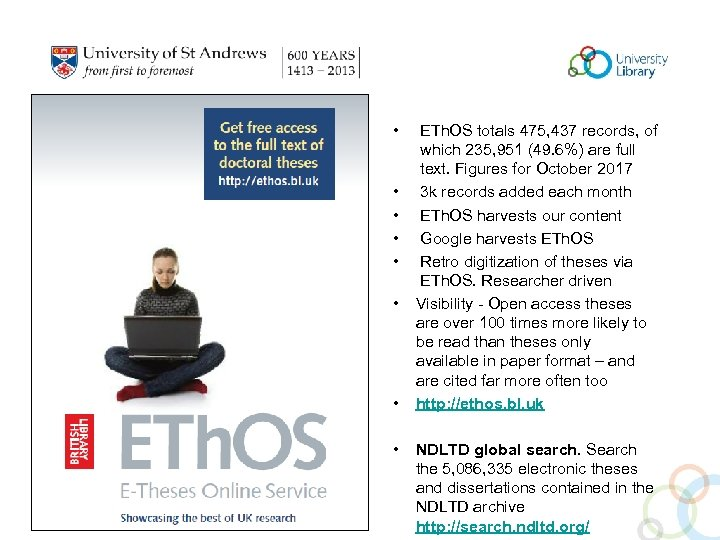 • • ETh. OS totals 475, 437 records, of which 235, 951 (49.