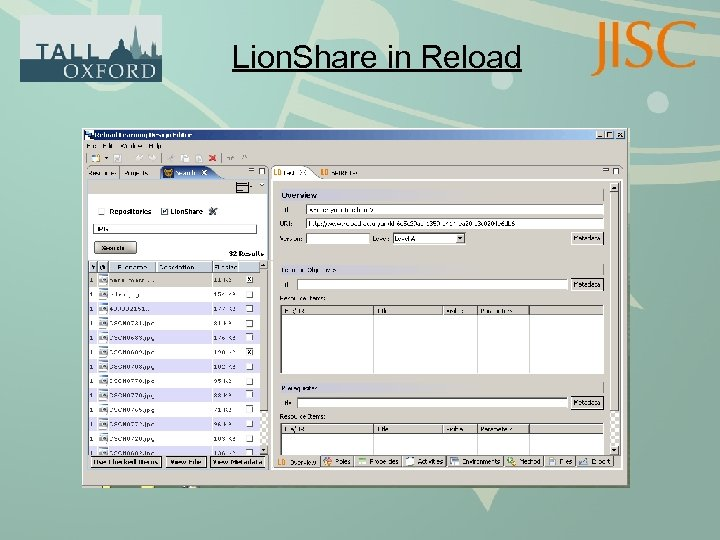 Lion. Share in Reload
