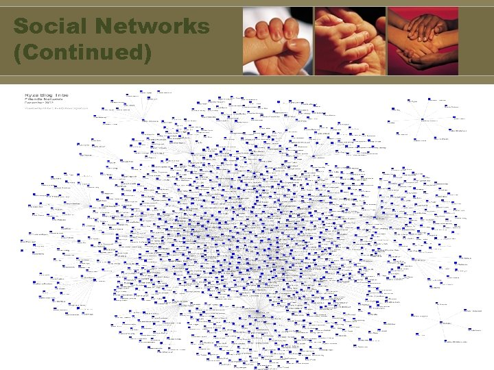 Social Networks (Continued)
