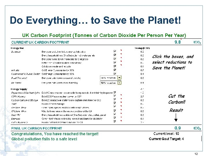 Do Everything… to Save the Planet! 12