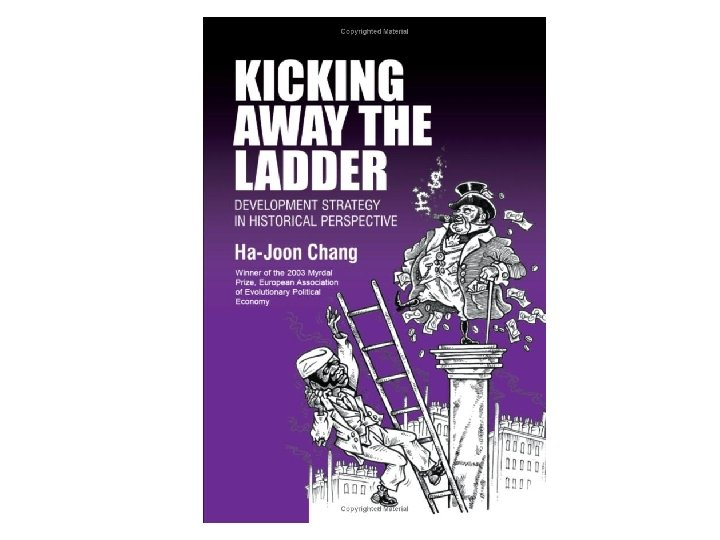 Kicking away the ladderpicture
