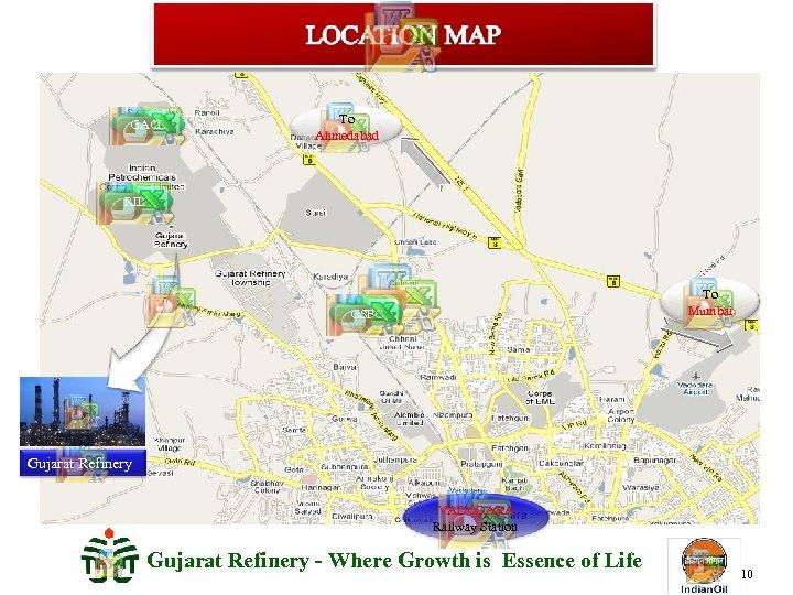 GACL To Ahmedabad RIL To Mumbai GSFC Gujarat Refinery VADODARA Railway Station Gujarat Refinery