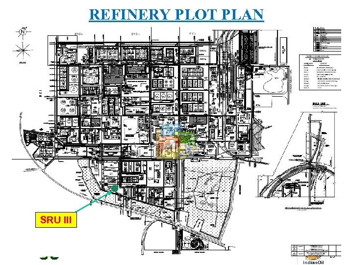 REFINERY PLOT PLAN SRU III Gujarat Refinery - Where Growth is Essence of Life