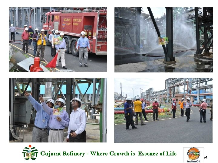 Gujarat Refinery - Where Growth is Essence of Life 34
