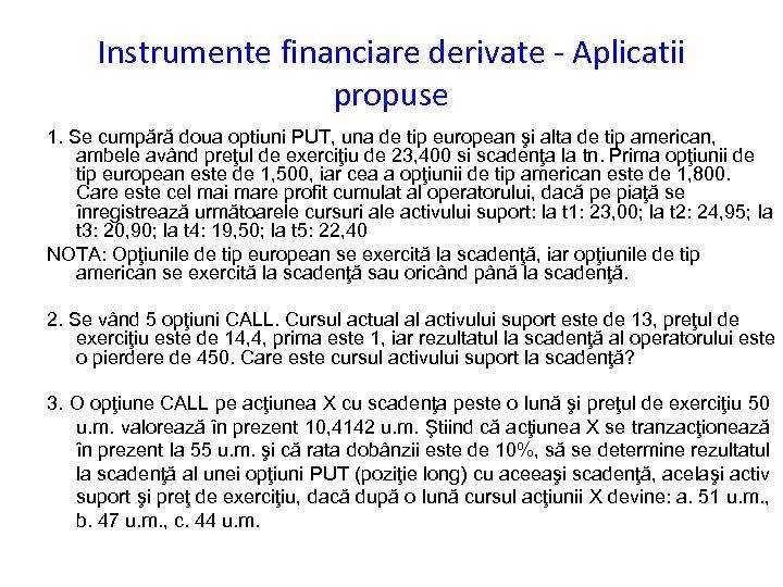 Instrumente Financiare – Ghid Complet