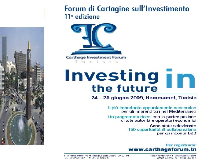 58 Tunisie Investissez dans le futur