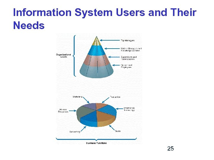 Information System Users and Their Needs 25